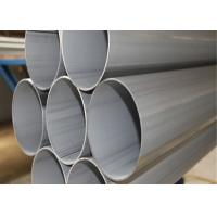 Best 304 316l Welded Stainless Steel Pipe , SS Welded Pipe 0.16-3.0mm Thickness wholesale