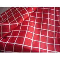 China 100% Polyester memory fabric with Transfer Printing on sale