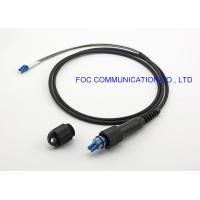 China PDLC-LC Optical Fiber Patch Cord FTTA Outdoor IP67 Waterproof on sale