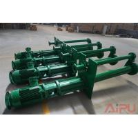 China Mud recycling submersible slurry pump for sale at Aipu solids control on sale