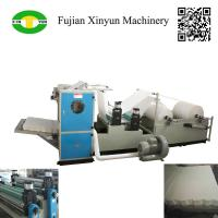 Best Automatic box drawing V fold facial tissue paper making machine wholesale