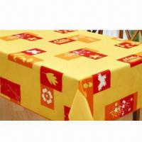 Best Table linen, made of 100% polyester waterproof printing wholesale