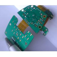 China Customized Rigid Flex Circuit Board / Six Layer FR4+Polyimide HASL Surface Finishing on sale
