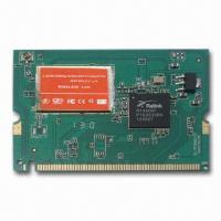 China 150Mbps Mini PCI Wireless Network Card Module, Supports IEEE 802.11b/g/n Standards on sale
