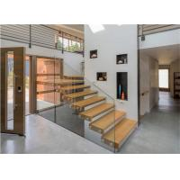 China Modern indoor glass railing rubber floating stair treads stairs stair parts on sale