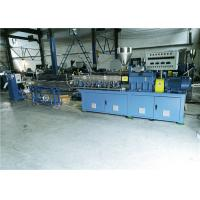 Conical Twin Screw Extruder With Strand Pelletizing System For Masterbatch