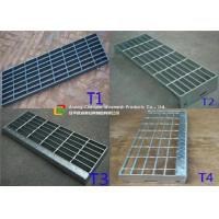 China Construction Metal Stair Steps, Exterior Metal Stair Treads40mm Width on sale