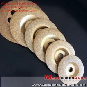Best Vacuum brazing diamond abrasive disc  Alisa@moresuperhard.com wholesale