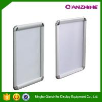 Best A1. A2. A3. A4 round corner aluminum graphic frame, anodised silver picture snap frame wholesale