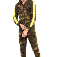 Best Camouflage Style Mens Hoodie Tracksuit Set Sweatsuit With Private Label wholesale