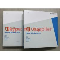 China Original Office 2013 Retail Box Media DVD , Office Home And Business 2013 Multi Functions on sale