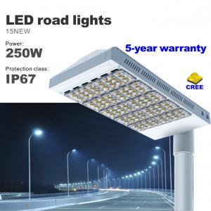 Best 250W Street LED Light CREE SMD Bulbs High lumens highways Road Lighting  IP67 Waterproof wholesale