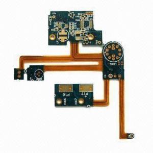 4 Layers Flex and rigid flex PCB printing circuit boards 0.1MM IPC-TM-650