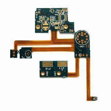 Cheap 4 Layers Flex and rigid flex PCB printing circuit boards 0.1MM IPC-TM-650 for sale