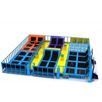 China Large Commercial Plan Inflatable Sports Games / Indoor Trampoline Park on sale