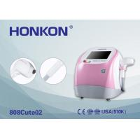 Buy cheap Pink 300W Portable 808Nm Diode Laser Beauty Machine For Permanent Hair Removal from wholesalers