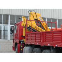 Buy cheap High Quality  Mobile Commercial 6.3T Knuckle Boom Truck  Mounted Crane with hydraulic arms  For Safety Transport product