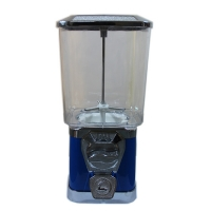 China Blue color 22*22*46cm size  mini bulk candy vending machine for sales on sale