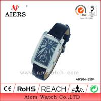 China Black Leather Watch (ARS04-8504) on sale
