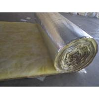 China foil faced glass wool insulation blanket on sale