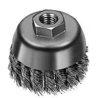 China Twist Knot Wire Brush Steel Wire Cup Brush Polishing Removing Stain on sale