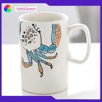China Creative Hand Painted Ceramic Coffee Mugs Continental Hand Painted on sale