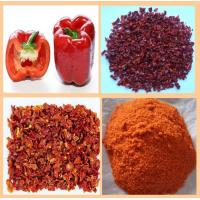 Cheap DRIED RED BELL PEPPER 5X5MM for sale