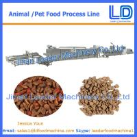 Best Big Capacity Cat,dog ,fish treats /pet food Processing Equipment wholesale