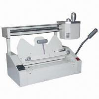 China Desktop Glue and Perfect Binder, Professional Grade Perfect Binding Machines and Glue Binding on sale