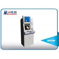 Best 19 Inch Automatic Self Service Card Dispenser Kiosk With Coin Counter wholesale