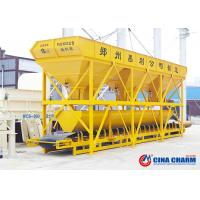 Best Belt Conveyor Type Concrete Batching Machine With Storage Hopper Adjustable wholesale