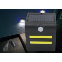 Best Small Size 1.5W LED Solar Motion Light Warm / Red / Green / Blue Color wholesale