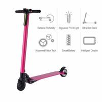 China High Tech Motorized Electric Kids Scooter 24v 250w 25 Km/H With Slim Deck on sale