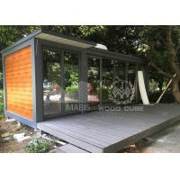 Best Fireproof Tiny Prefab Homes , 15 Square Meter Prefabricated Small Homes wholesale
