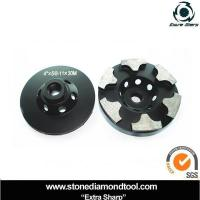 """Best 5/8""""-11 High Quality Diamond Stone Grinding Cup Wheel wholesale"""