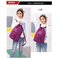 China Polyester Sports Waterproof Drawstring Bag Customized Color 37 * 47CM on sale