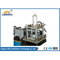 Best Hydraulic Cutting Shutter Door Machine , Automatic Control Rolling Shutter Making Machine wholesale