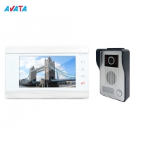 China China Factory Video IP Video Door Phone Smart Camera Doorbell Access Control System for Villa on sale