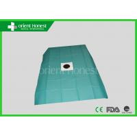 China Medical Hospital Use Impermeable Fitted Disposable Bed Sheets With Hole wholesale