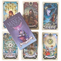 Cheap Artwork 54 Card Deck Printed Tarot And Oracle Cards for sale