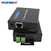 Best NF-1802 IP Ethernet Over 2 Wire cable Extender IP twisted pair extender RJ45 to BNC converter wholesale