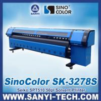 Best Digital Banner Printing Machine Price Good, SinoColor SK-3278S, 720dpi, 3.2M Width wholesale