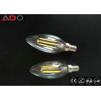 Best Triac Dimmable Power Saving Light Bulbs 35 * 98mm E14 / E12 C35 Candle Shape wholesale