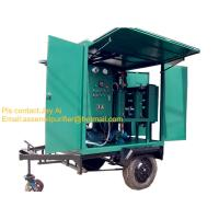 China Fully mobile type transformer oil treatment machine,oil recycling plant on sale