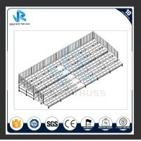 China Outdoor Solid Structure Metal School Gym Bleachers , Multifunction Sports Bleacher on sale