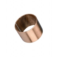 Best CUSN8 Material Wrapped Bronze Bearing With Pockets EGB 5040 090 wholesale