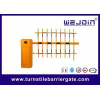China RFID Car Parking Turnstile Access Control System Electric Barrier Gate Automatic on sale