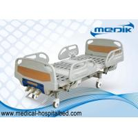 China Detachable Manual Hospital Bed ABS Head And Foot Board 3 Function on sale