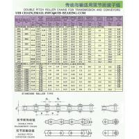double pitch roller chain for transmission and conveyors