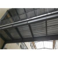 Cheap Floor Deck Light Steel Frame Construction Prefab Pedestrian Bridge Between Two for sale